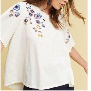 Akemi kin bee floral thistle shirt